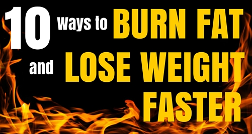 How to lose stomach and back fat quickly
