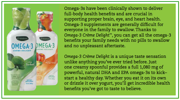 One, Two, Omega3?s